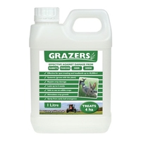 "Grazers Pest Control G1 ""4ha"" for Rabbits, Pigeons, Deer & Geese"