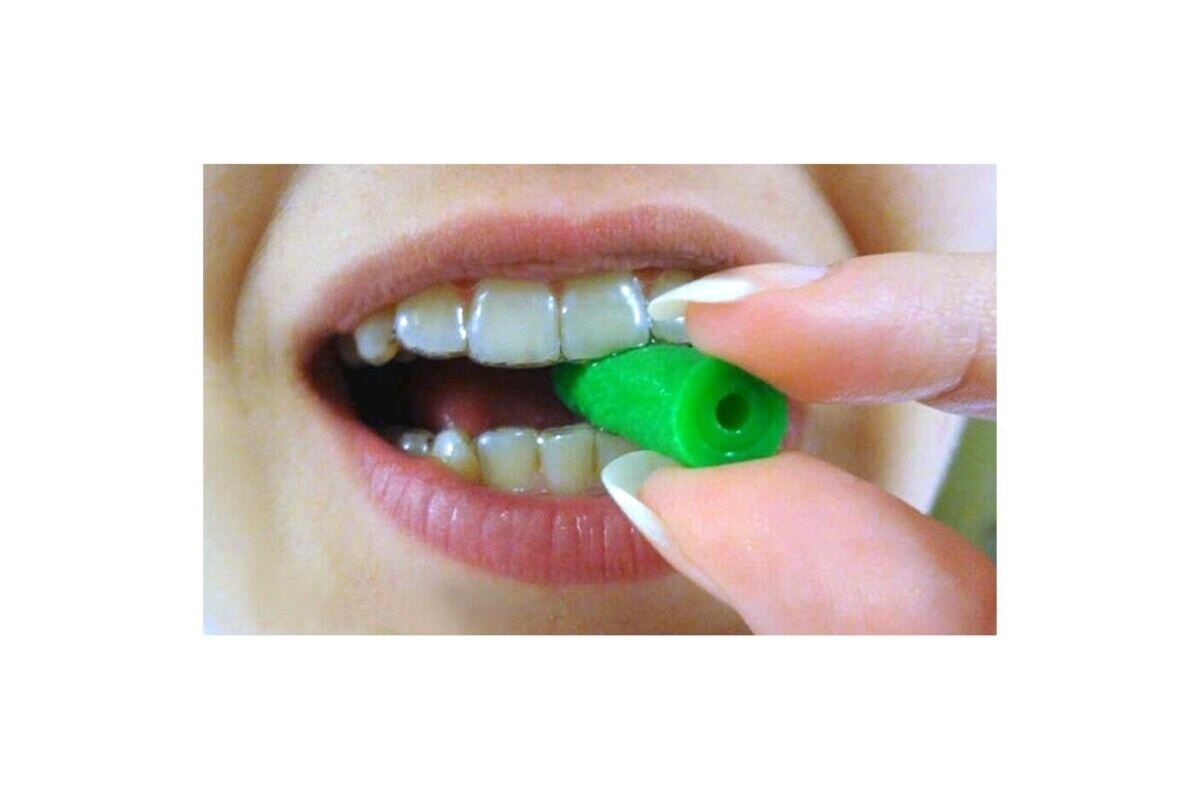 Dentsply Sirona Chewies Aligner Tray Seater 150pk x 2  Green Mint Available online from Ireland's Leading Dental Supplier – DMI,