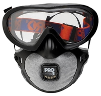FilterSpec Pro Goggle Dust Mask Combo