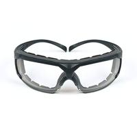 3M™ SecureFit™ Protective Eyewear 600 Series, SF601SGAF-FM, Clear Scotchgard™ Anti-Fog Lens with Foam Gasket