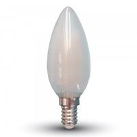4w Frost Candle Filament Bulb E14 4000K