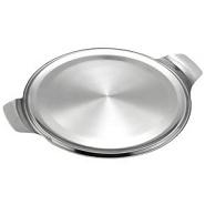 Cake Plate Stainless Steel  300mm Diameter