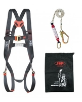 JSP Spartan Fall Arrest Kit (Harness c/w 1.8m Lanyard)