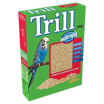 Trill Budgerigar Seed 500g x 12