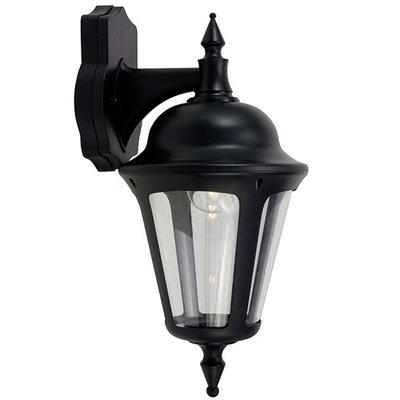ANSELL Latina 42W E27 Wall Lantern Black