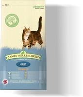 James Wellbeloved Cat Light - Fish & Rice 4kg x 1