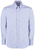 Kustom Kit KK188 Men's Long Sleeve Tailored Fit Premium Oxford Shirt