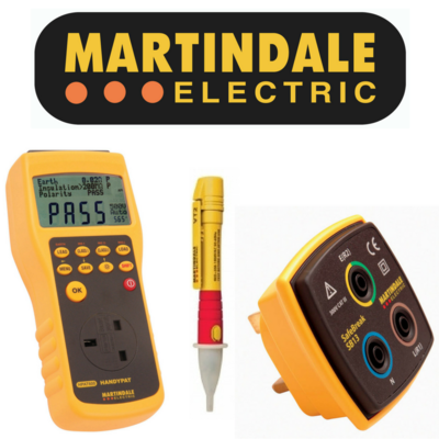 COMPLETE RANGE OF MARTINDALE TEST EQUIPMENT IN STOCK