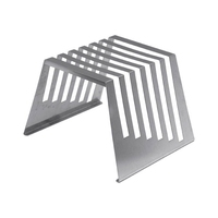 Board Rack Economy Stainless Steel Holds 6 x12mm Boards