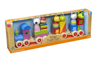 Animal Puzzle Train (Order in 2's)