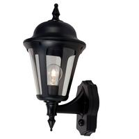 ANSELL Latina 42W E27 PIR Wall Lantern Black