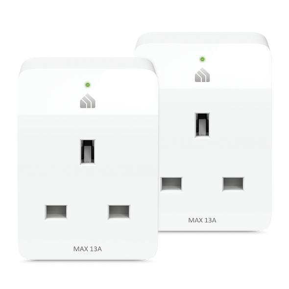 Tp-Link Kasa Wi-Fi Smart Plug, 2 pack KP105P2