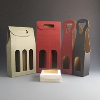 Bottle gift Boxes.