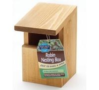 Nature's Feast Robin Nest Box x 1
