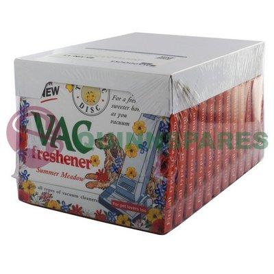Air Freshener Vacuum Discs Summer Meadow 12 Pack