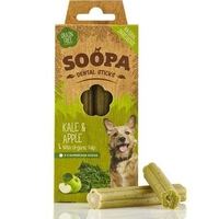 Soopa Dental Sticks - Kale & Apple 4-Stick 100g x 1