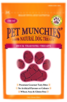 Pet Munchies Dog Training Treats Duck 50g x 8