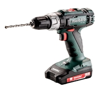 Metabo Cordless Drill Driver Set with 2 x 2.0Ah Batteries SB 18 L