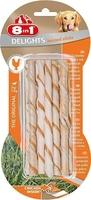 8in1 Delights Twisted Sticks Chicken - 10-Piece x 1