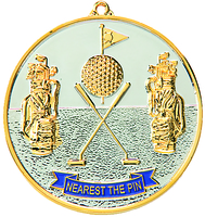 70mm Silver/Gold Nearest the Pin Medal
