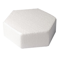 "9246 CAKE DUMMY-HEXAGON (8"""")"