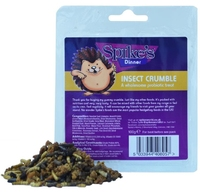 Spike's Dinner Insect Crumble 100g x 6 [Zero VAT]