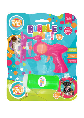 Bubble Dog! Electric Mega Bubble Gun x 1