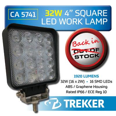 TREKKER WORK LAMP BACK IN STOCK