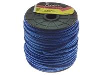 PREMIER 50 MTR 4 MM BRAIDED POLYPROPYLENE ROPE BLUE