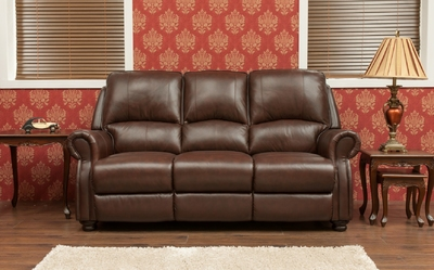 BERKLEY - HALF LEATHER - CHESTNUT
