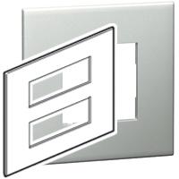 Arteor (British Standard) Plate + Support 2x6m Square Pearl Alu| LV0501.0120