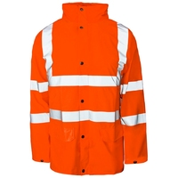 Supertouch Hi-Visibility Storm-Flex PU Jacket, Orange Unlined