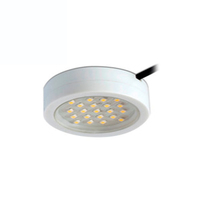 Robus Captain 2W LED White Cabinet Light Warm White