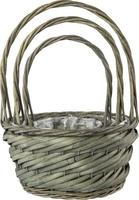 Adaline Willow Baskets Set of 3