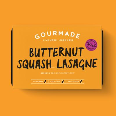 Frozen Gourmade Butternut Squash Lasagne