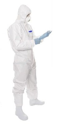 REDBACK Coverstar Disposable Laminate Coverall c/w Hood Type 5/6