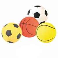 "Pets Inc. Floating Rubber Sports Balls 2½"" x 12"