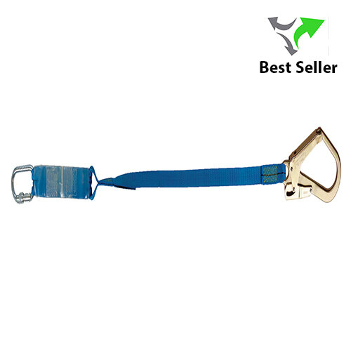 Tractel Webbing Lanyard with Shock Absorber |  LSA 2m Length