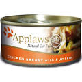 Applaws Cat Can - Chicken & Pumpkin in Broth 70g x 24
