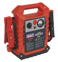 SEALEY RS125 ROADSTART EMERGENCY POWER PACK 12/24V 3000/1200Peak Amp 15Kg W/ 1Mtr CABLE   Booster Pac