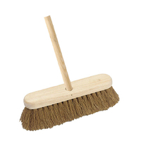 "12"" Contract Broom with Handle Soft Coco (WT550/H)"