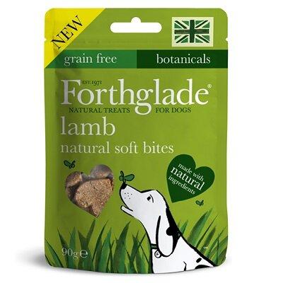Forthglade Natural Soft Bites Lamb Treats 8 x 90g