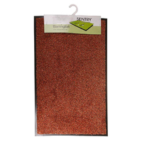 Sentry Barrington Cotton Washable Mat 40x60cm Rust