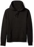 Hoodie Plain Black Size M
