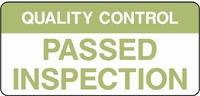 Quality Control Sign QUAL0004-1239