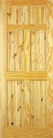 Indoors Berkley Pine Door 78X30X42Mm 6 Panel