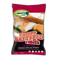 Chicken Fillets Battered (Whole Muscle) Halal-M.V-(20x120gr)