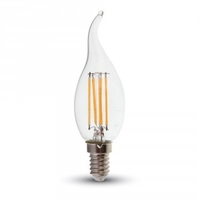 4W LED Candle Filament E14 2700K
