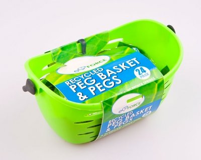 EcoForce Recycled Peg Basket  24 Pegs (CDU)