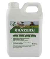 "Grazers Pest Control G1 ""4ha"" for Rabbits, Pigeons, Deer & Geese"